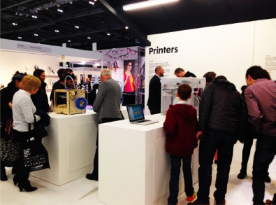 3D printers at 100% Optical event