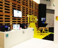 Grand Designs London event with 3D printers