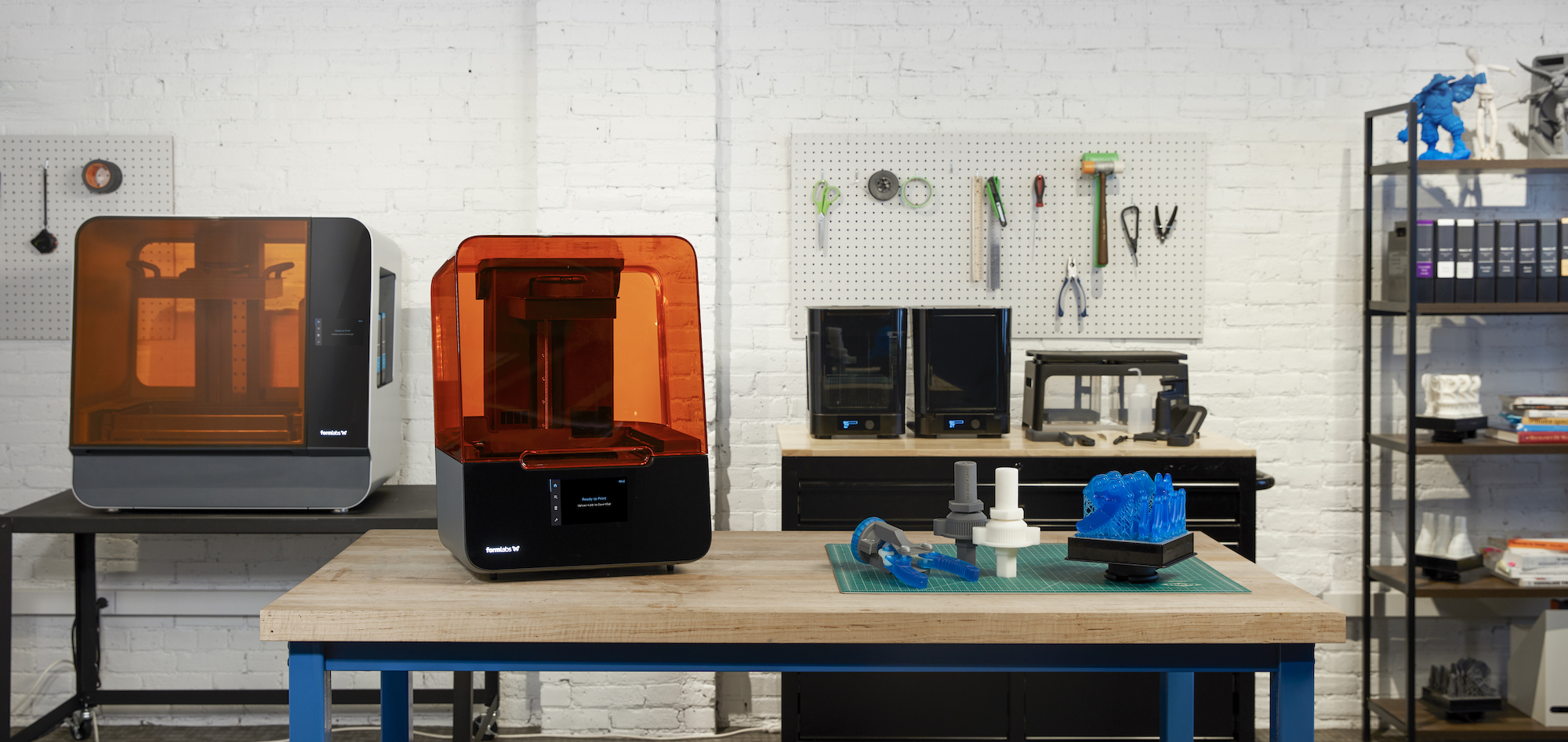 Formlabs Form 3 3D printer range