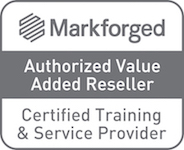 MarkForged Authorised Value Added Reseller and Certified Training & Service Provider logo