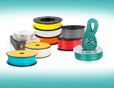 3d printing materials, consumables, filament and cartridges