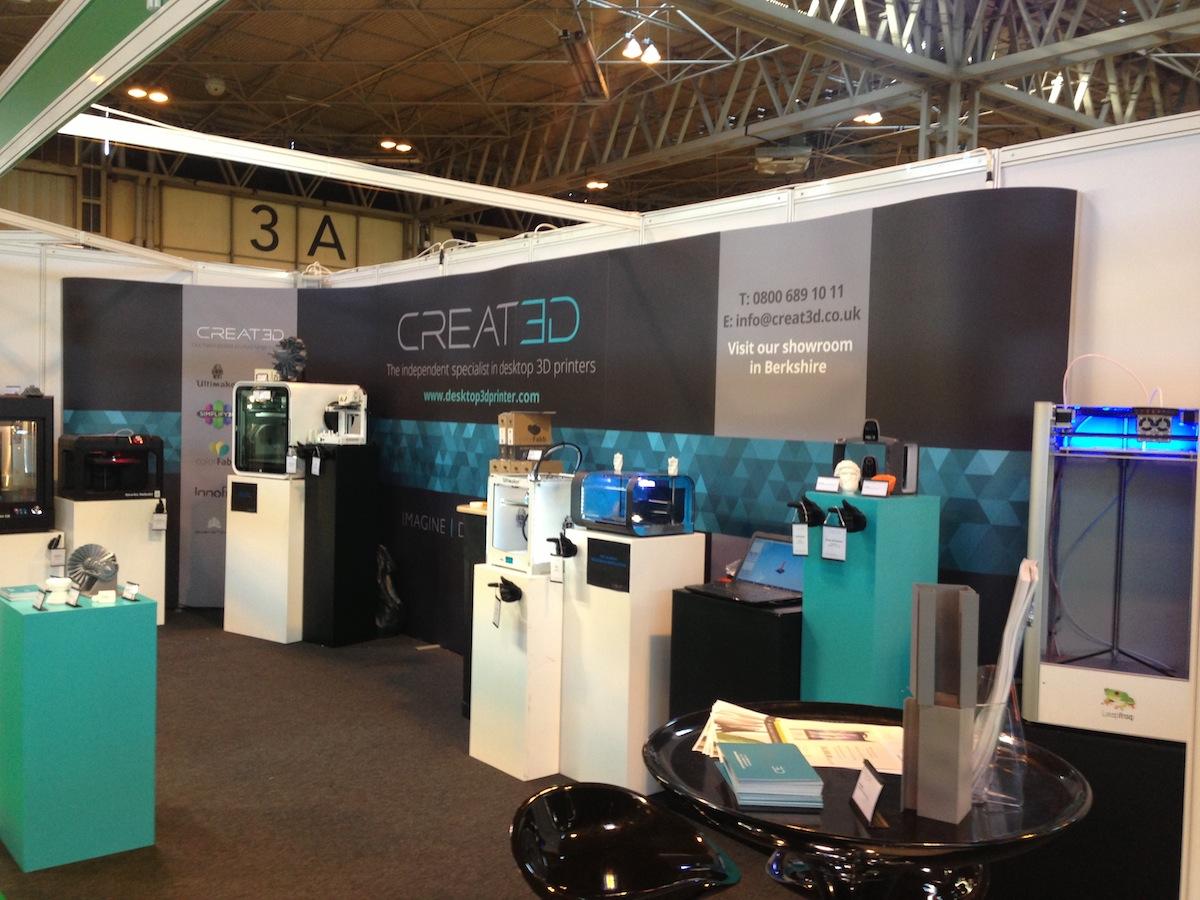 Creat3d Showcase High Strength 3d Printing Filament At Tct