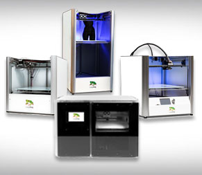 Range of Leapfrog 3D printers at CREAT3D image