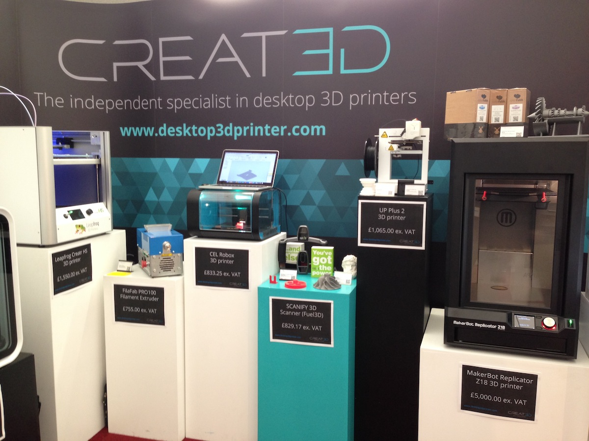 CREAT3D 3D Printers at Southern Manufacturing Show 2015