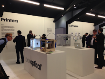 CREAT3D 3D Printers at 100% Optical 2014 image