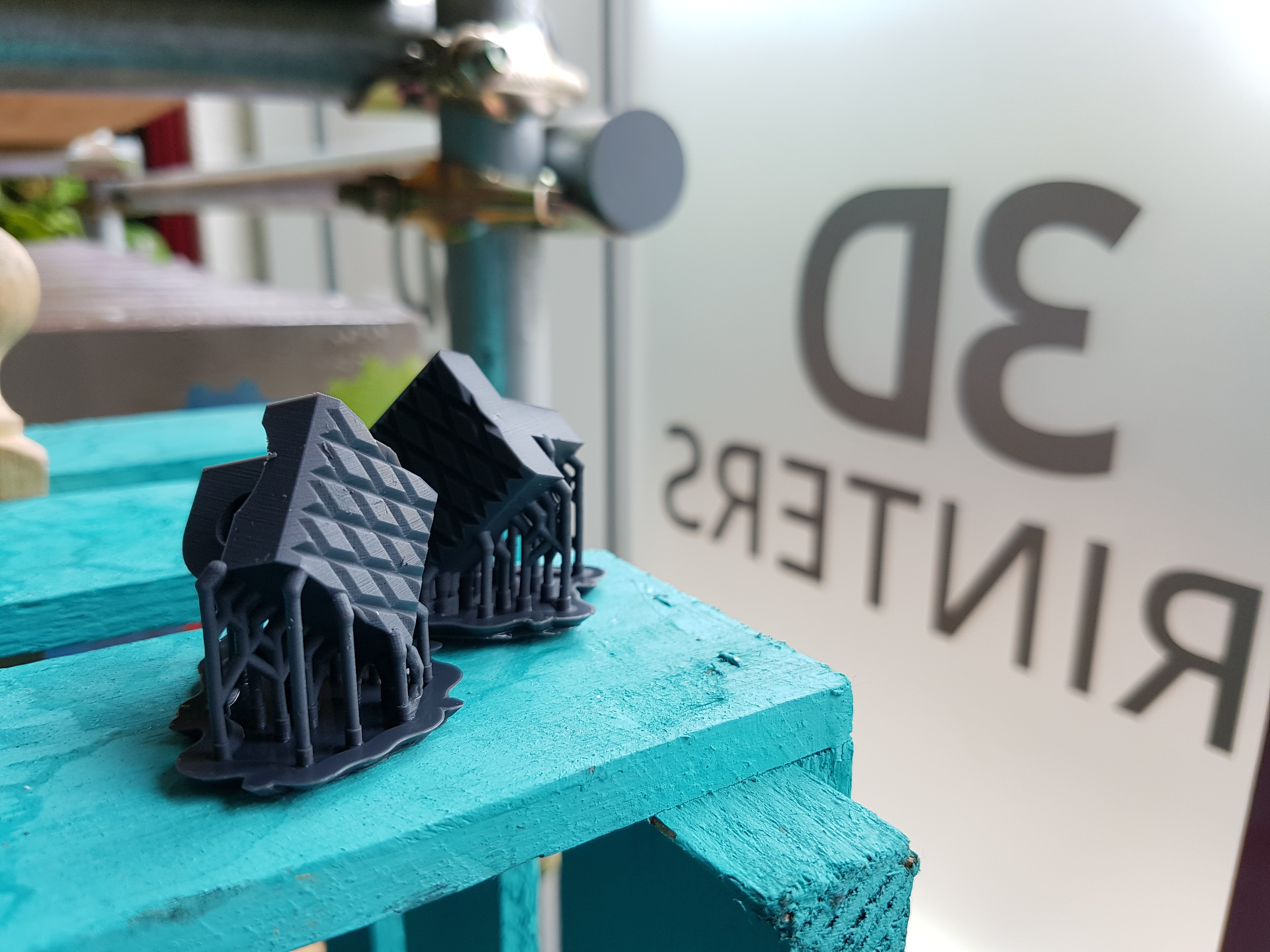 Formlabs flexible resin prints image