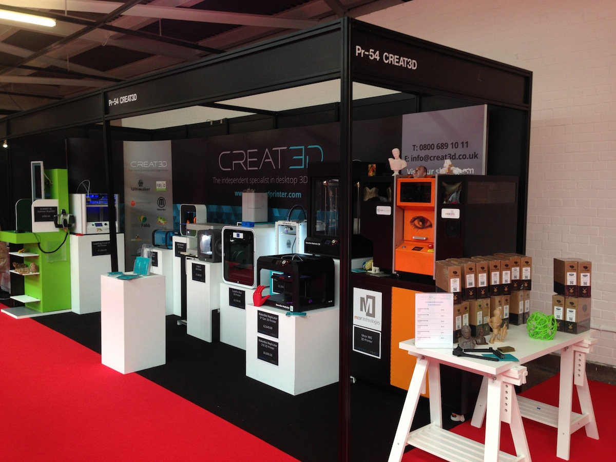 CREAT3D 3D Printers at 3D Printshow London 2015