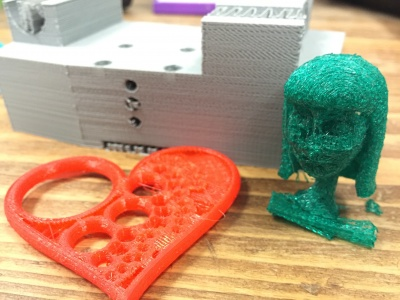 3D prints with under extrusion