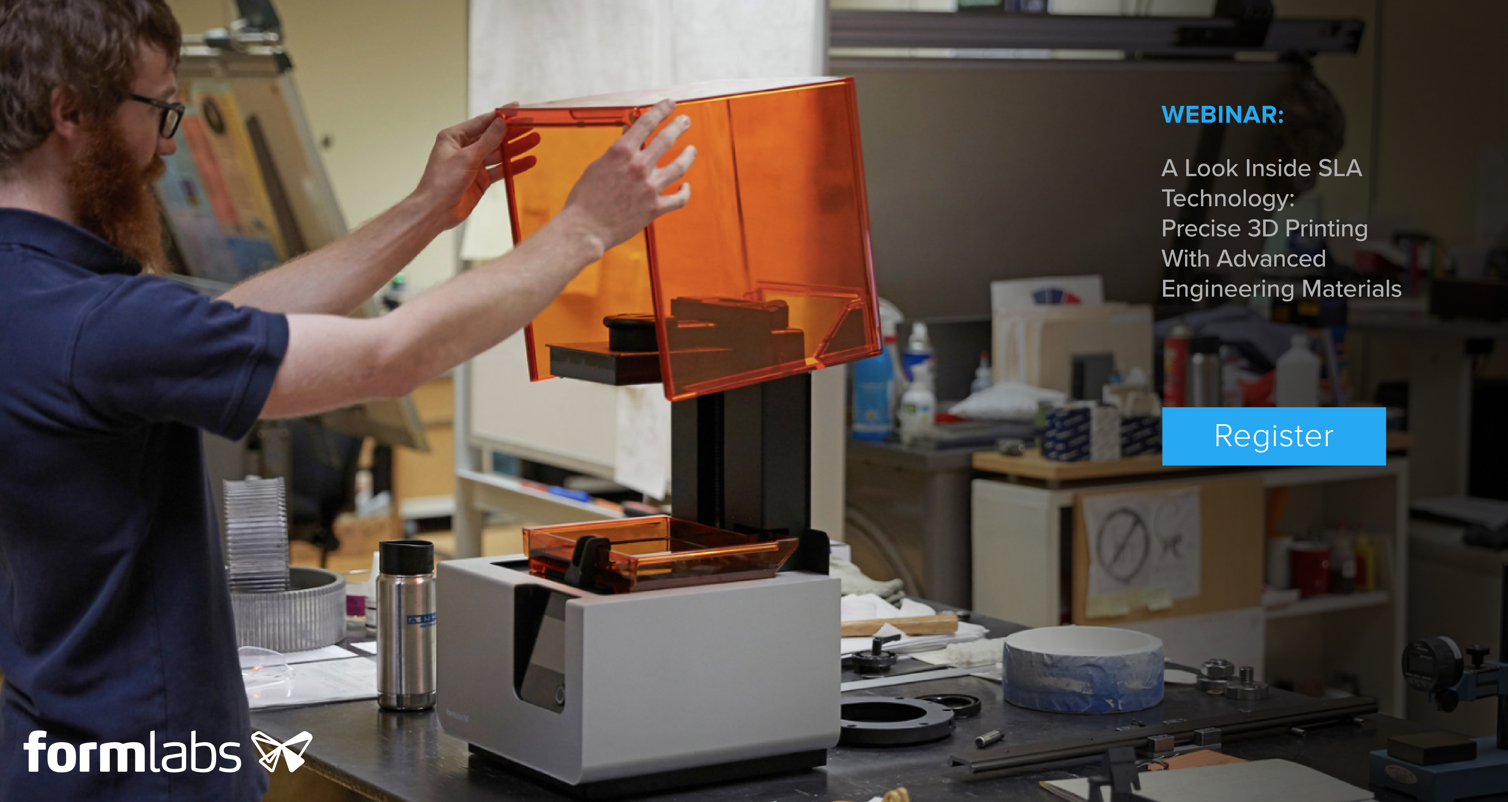 Register for Formlabs Engineering webinar image