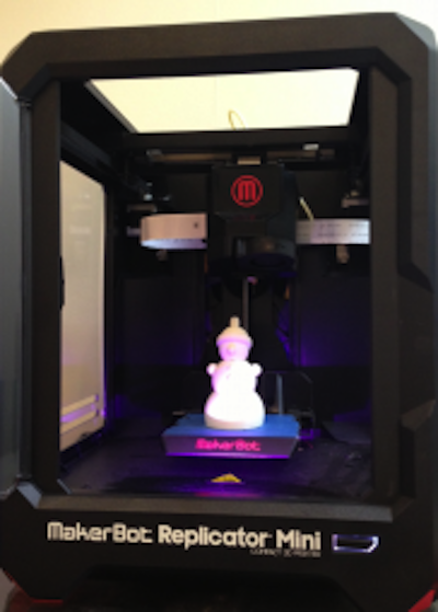 MakerBot Mini at The Oracle