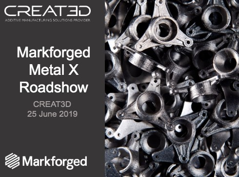 Markforged Metal X Roadshow at CREAT3D image