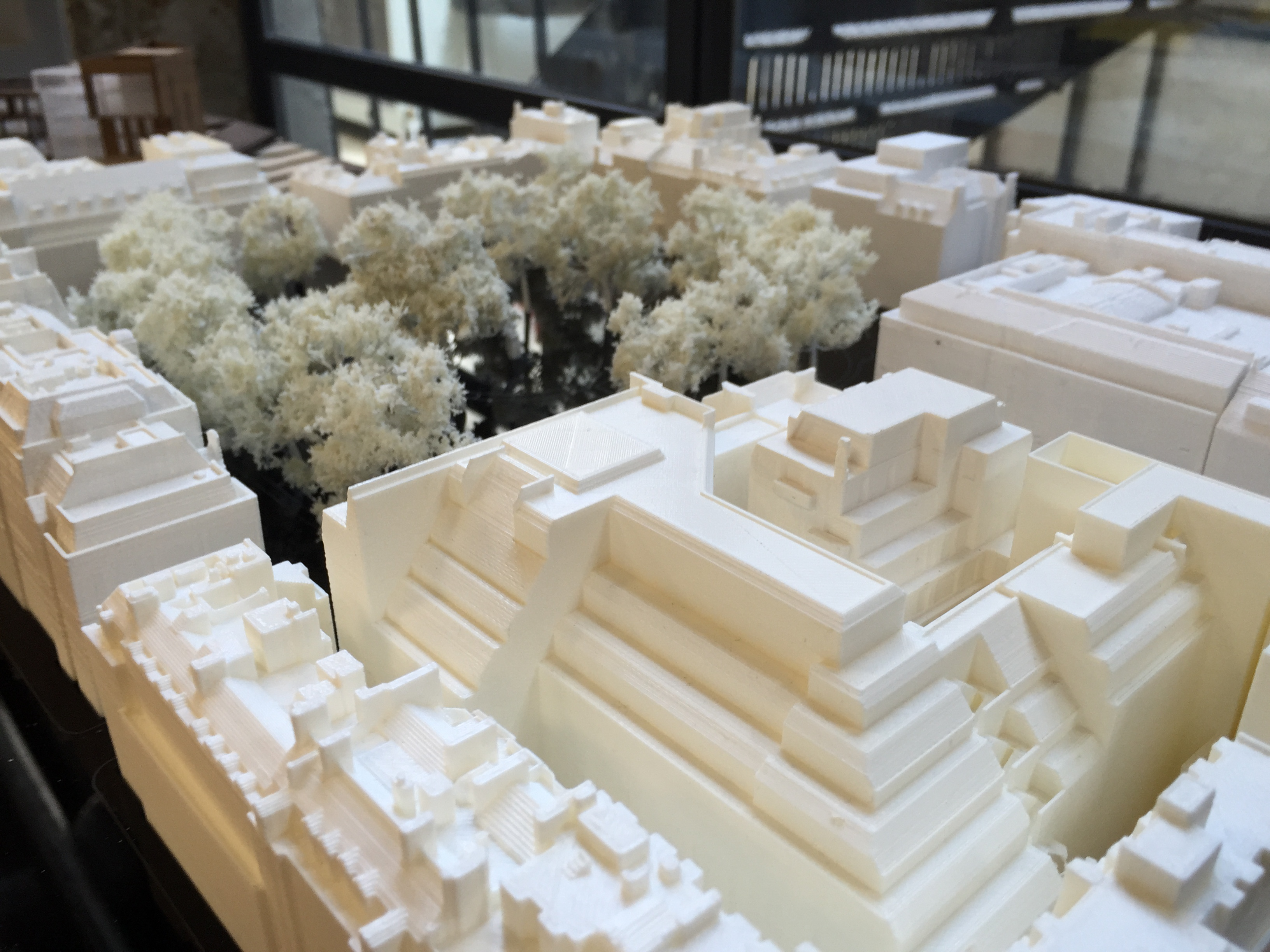 Make's 3D printed architectural model image