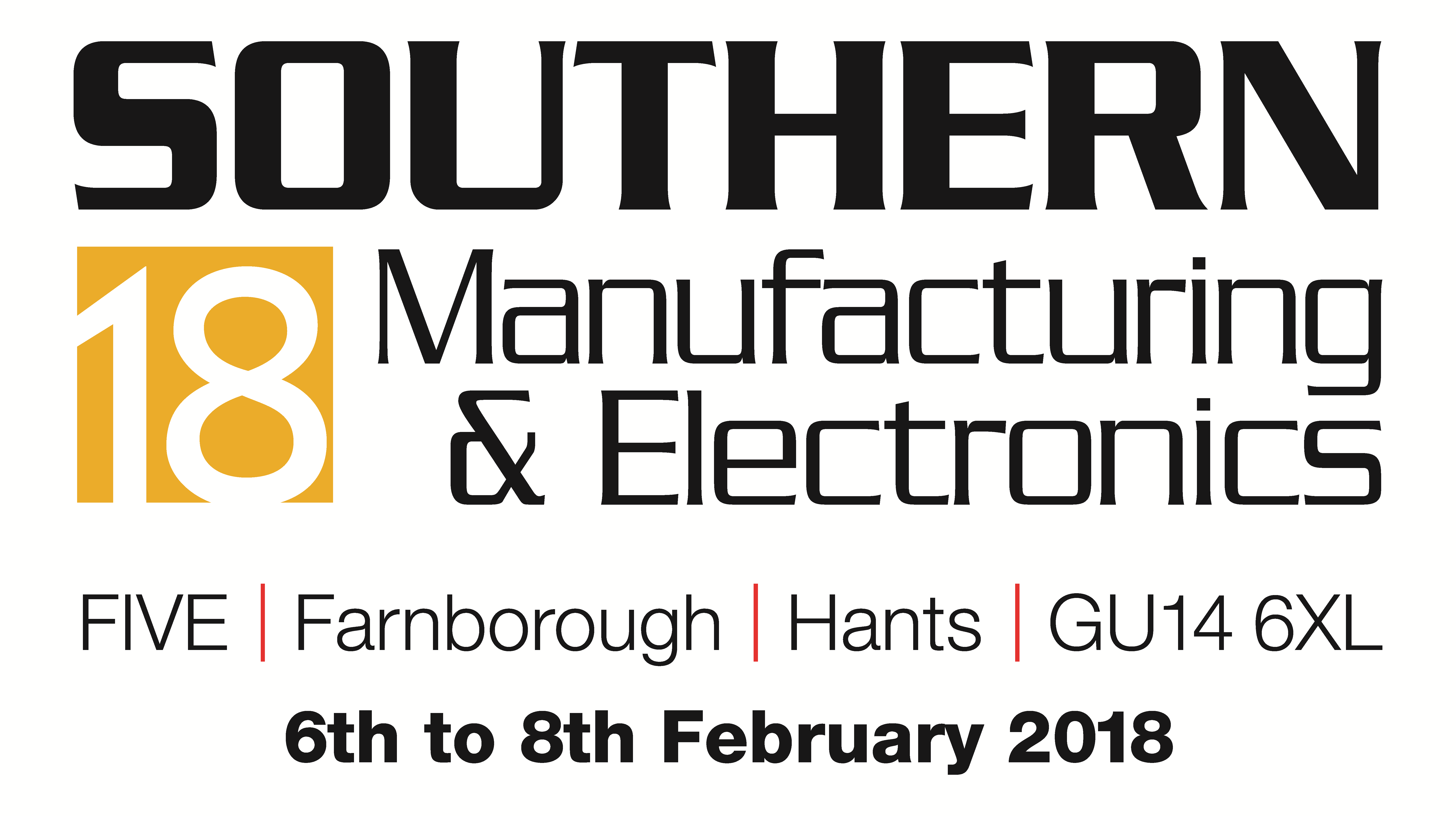 CREAT3D 3D printers at Southern Manufacturing Show 2018 logo
