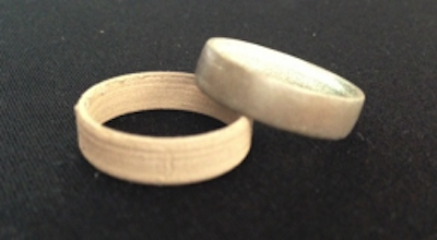 bronzeFill 3D printed rings image